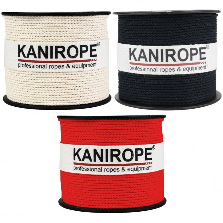 Cotton Rope COBRAID ø1,5mm 8-strand Braided by Kanirope®