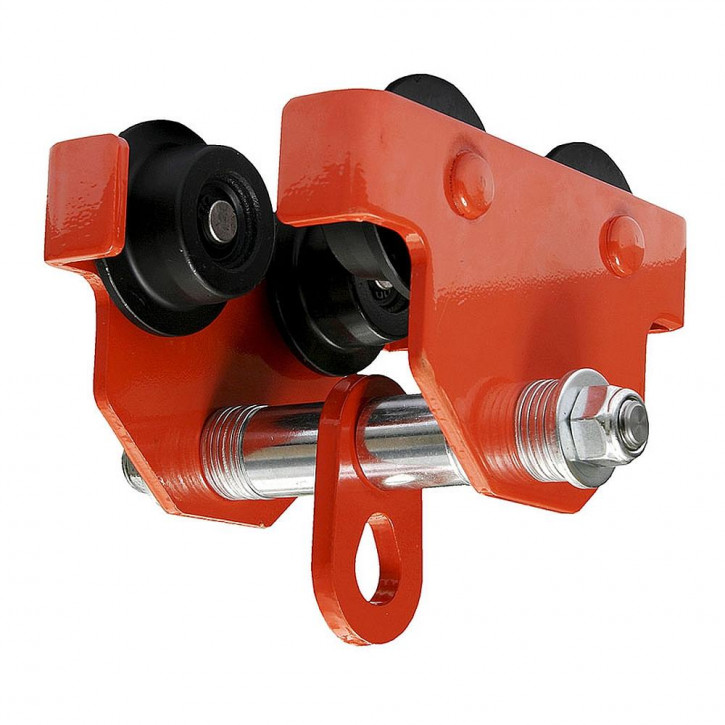Attachment clamp for steel beams TROLLEY by Kanirope®