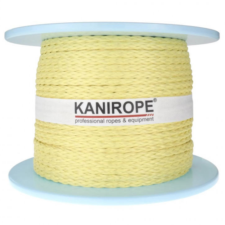 Aramid rope ARABRAID ø6mm 8-strand braided by Kanirope®