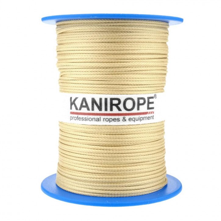 Aramid rope ARABRAID ø1,5mm 500m 8-strand braided by Kanirope®