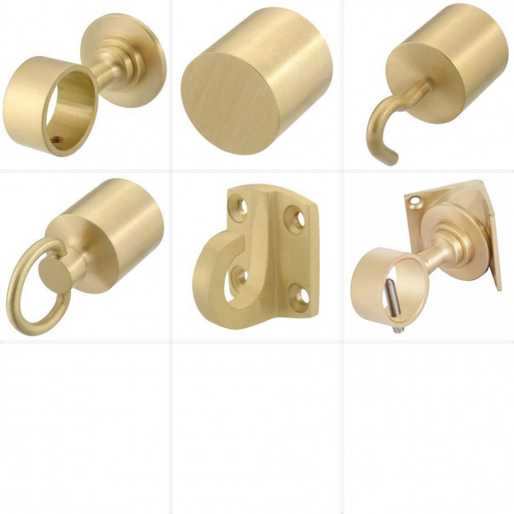 "Handrail Rope Accessories ""Matt Brass"" by Kanirope®"