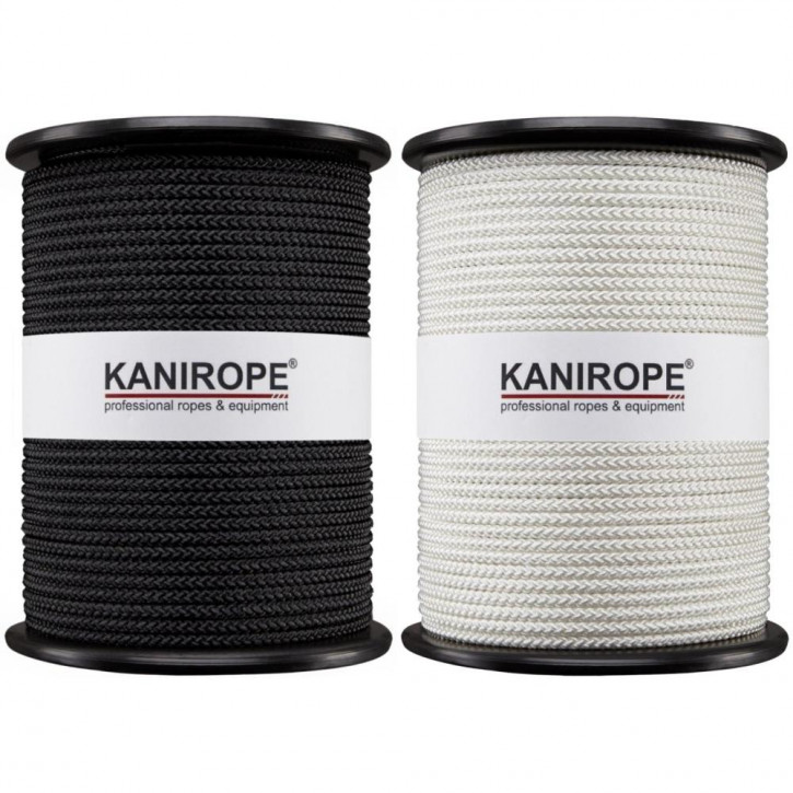 Special Rope B1 ø6mm 8-strand braided Fire Retardant by Kanirope®
