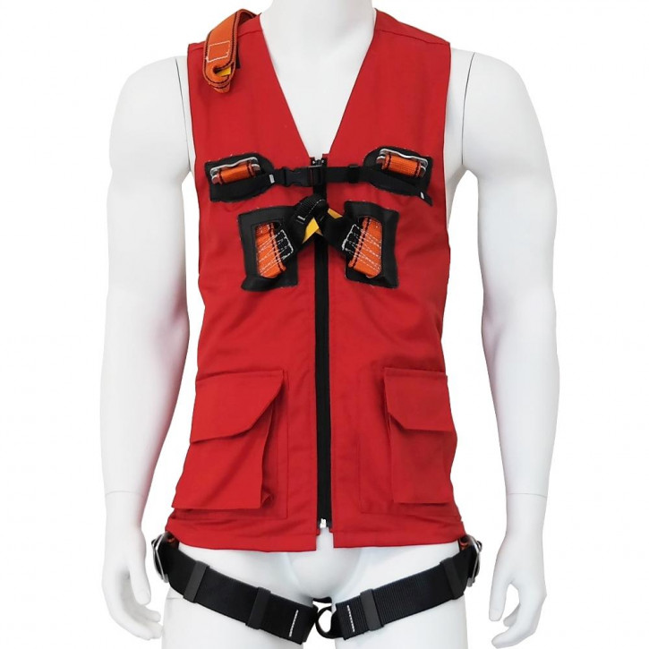 Harness with vest ECOVEST 2 by Kanirope®
