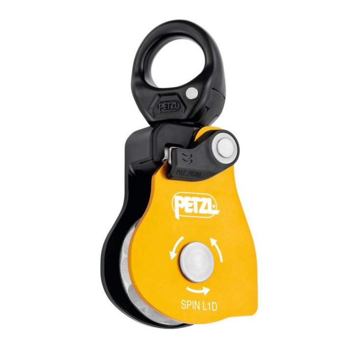 Single pulley SPIN L1D color yellow by Petzl®