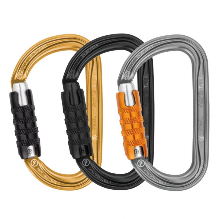Carabiner AM D TRIACT-LOCK by Petzl®