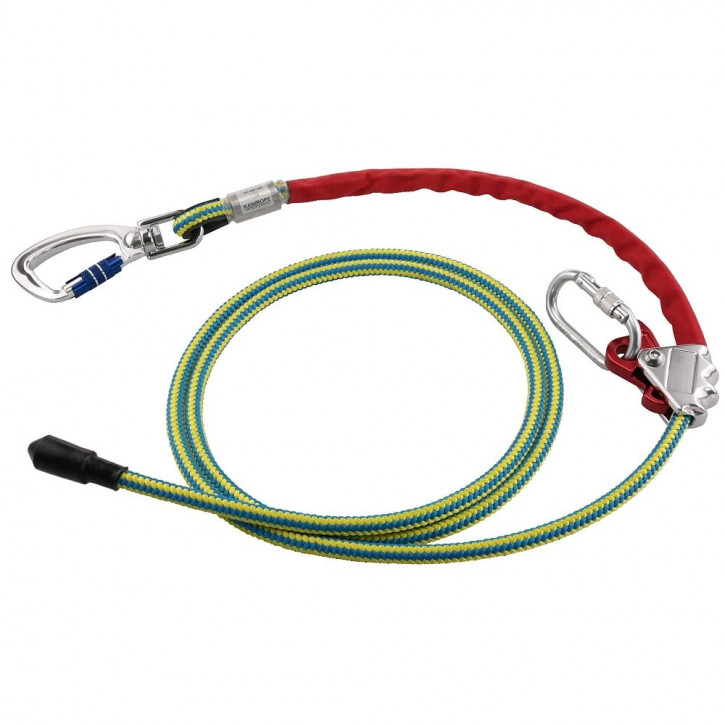 Reinforced adjustable positioning lanyard PROT30 length 3m by Kanirope®