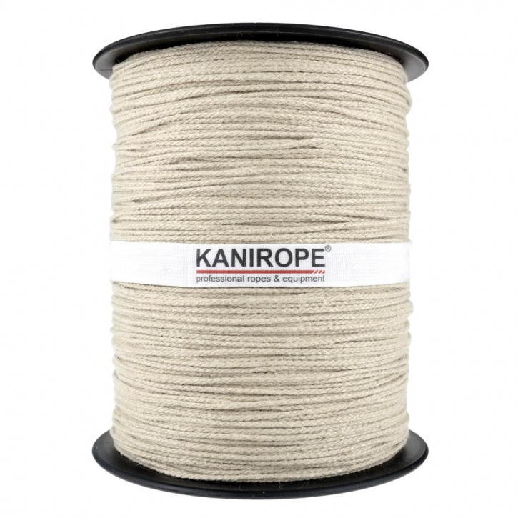 Hemp Rope HEMPBRAID ø1mm 500m Reel 8-strand Braided by Kanirope®