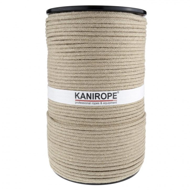 Hemp Rope HEMPBRAID ø6mm 16-strand Braided by Kanirope®