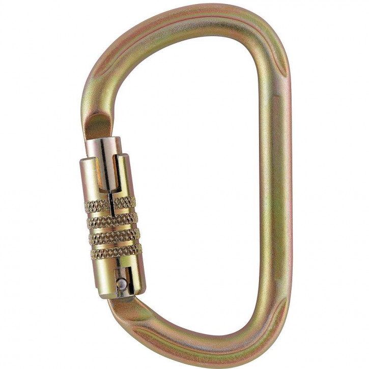 Carabiner VULCAN TRIACT-LOCK color gold by Petzl®
