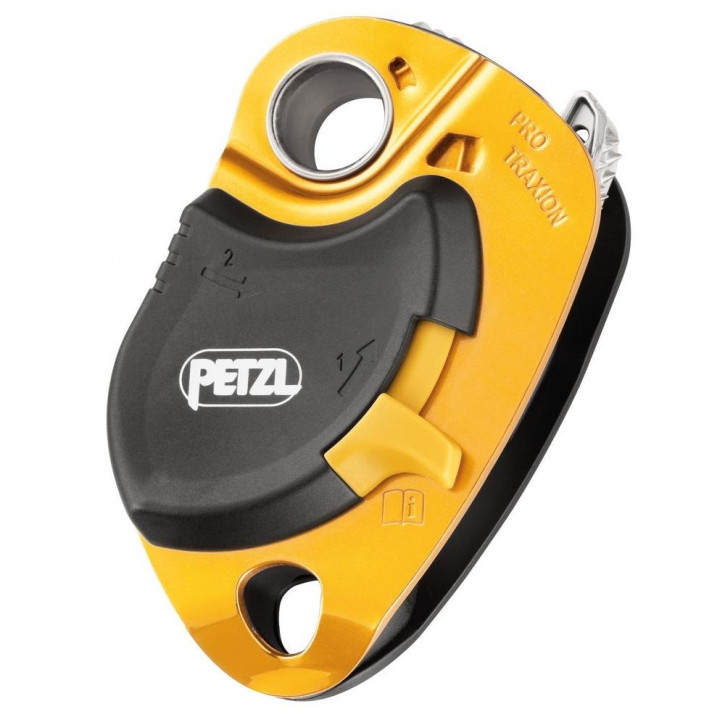 Progress capture pulley PRO TRAXION by Petzl®