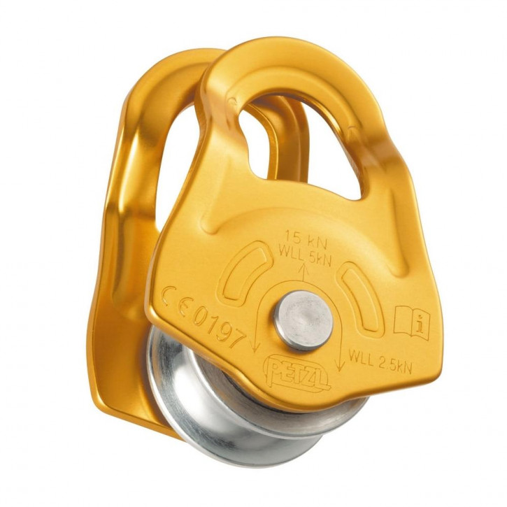 Versatile ultra-compact pulley MOBILE by Petzl®