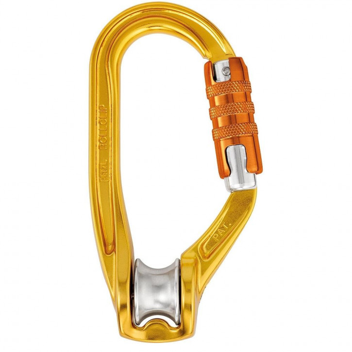 Pulley-carabiner ROLLCLIP A TRIACT-LOCK by Petzl®