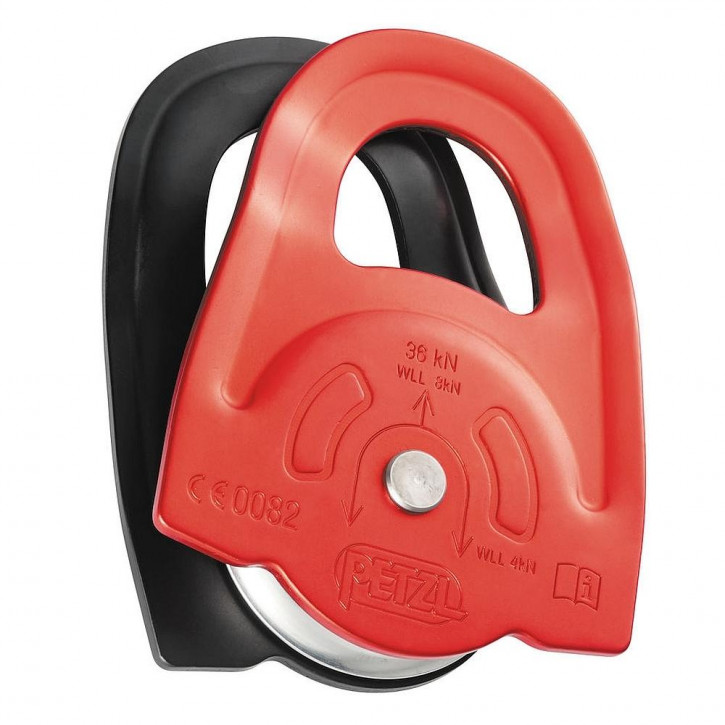 High efficiency prusik pulley MINDER by Petzl®