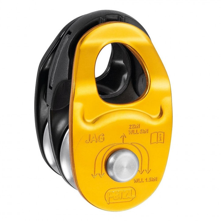 High efficiency double pulley JAG by Petzl®