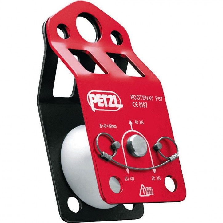 Knot-passing pulley KOOTENAY by Petzl®