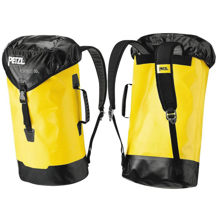 Durable medium-capacity bag PORTAGE 30L by Petzl®
