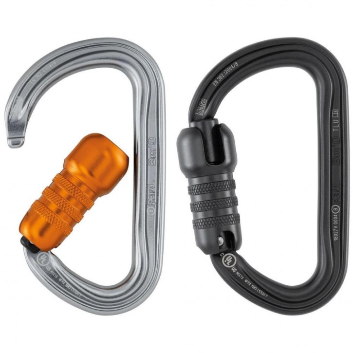 Carabiner BM D TRIACT-LOCK by Petzl®