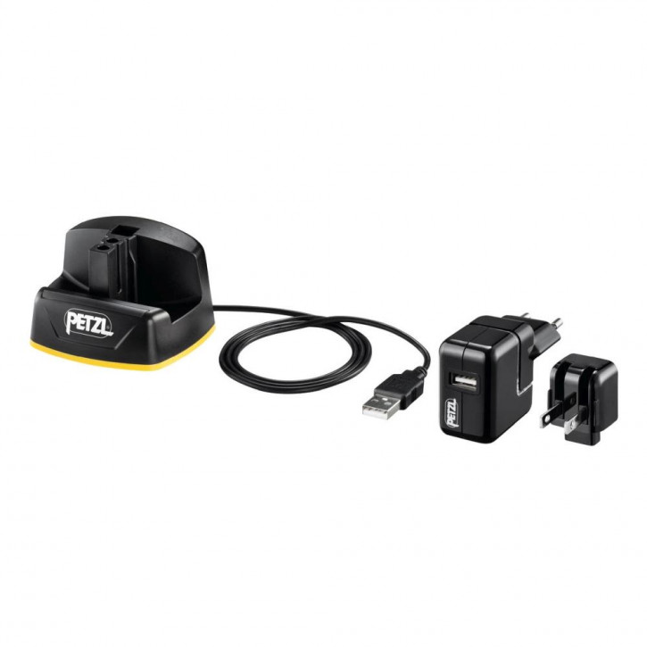 Wall charger for ACCU 2 DUO Z1 battery by Petzl®