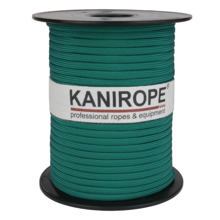 Paracord 550 XPRO ø3,8mm green braided by Kanirope®