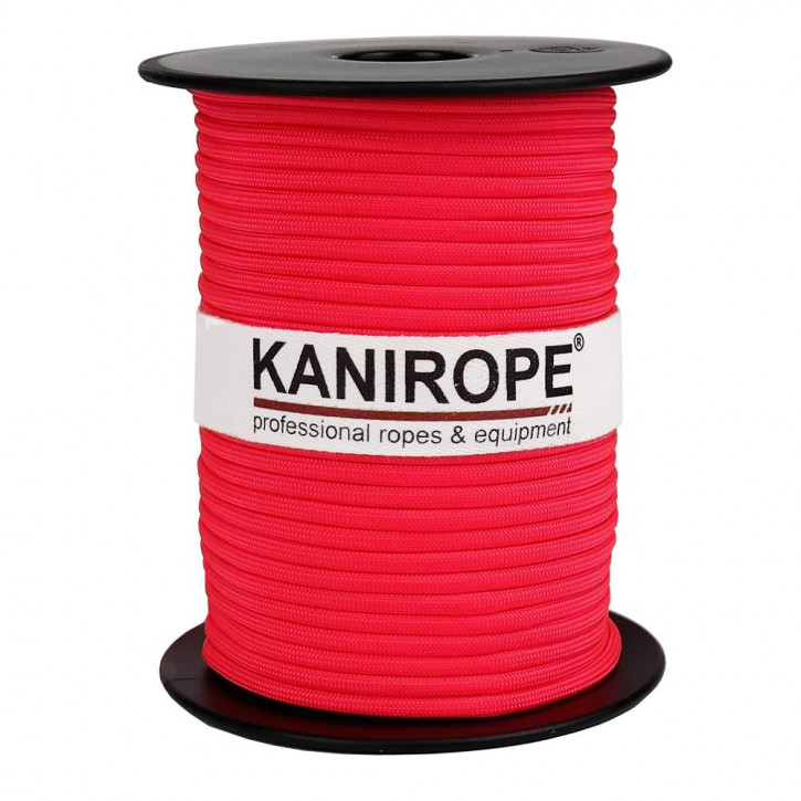 Paracord 550 XPRO ø3,8mm neon pink braided by Kanirope®