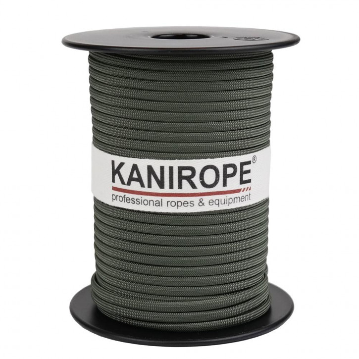 Paracord 550 XPRO ø3,8mm olive braided by Kanirope®