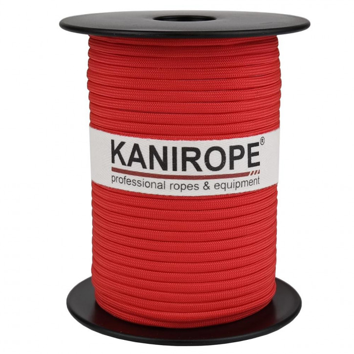 Paracord 550 XPRO ø3,8mm red braided by Kanirope®