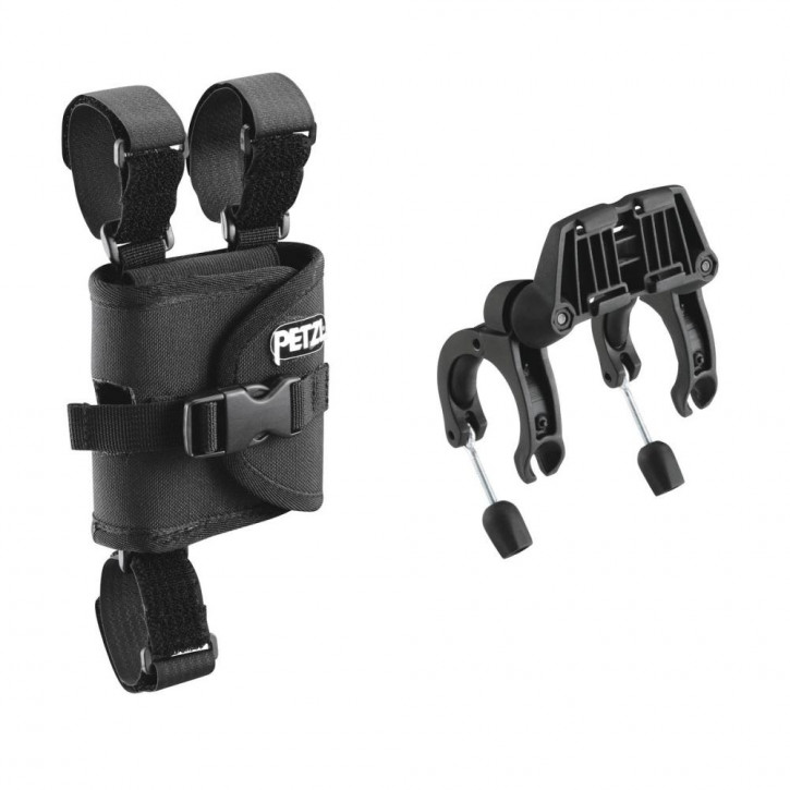 Mount for bicycle handlebars by Petzl®