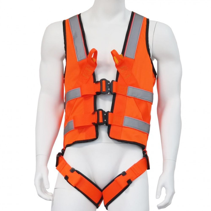 Harness with vest ECOVEST REFLECTOR SPEED by Kanirope®