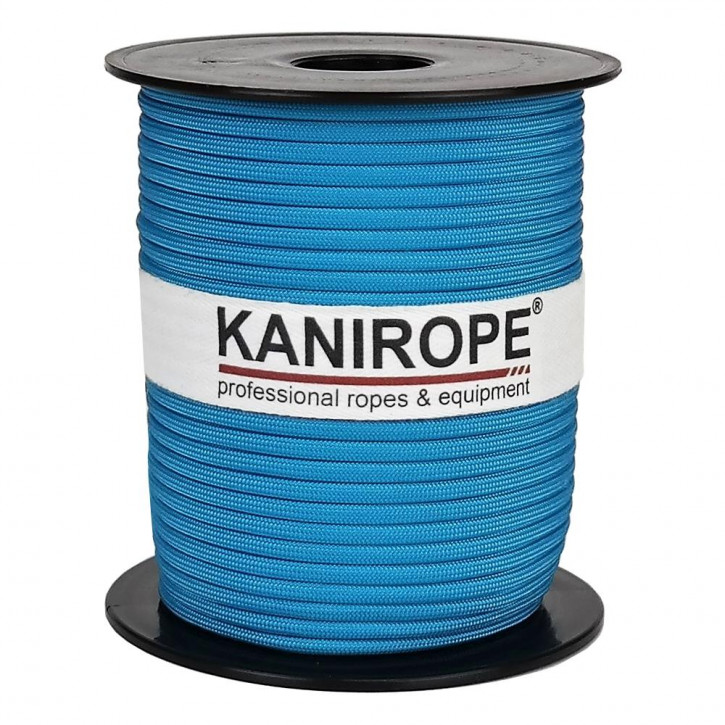 Paracord 550 XPRO ø3,8mm turquoise braided by Kanirope®