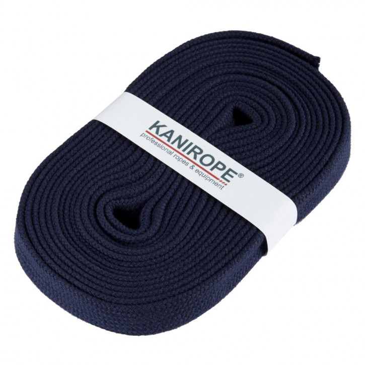 Flat cord HOODIECORD dark blue 5m by Kanirope®
