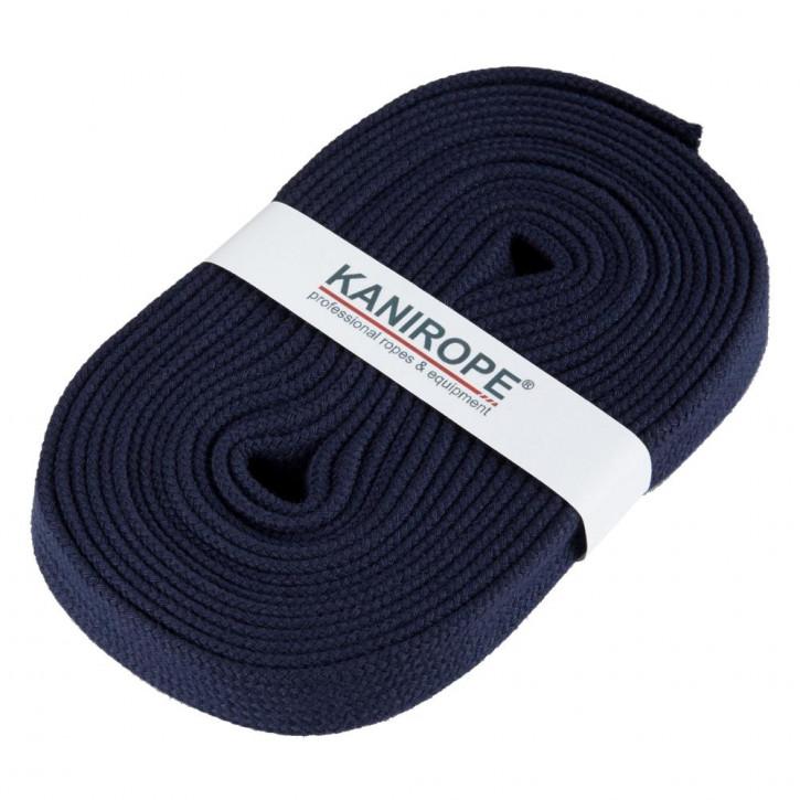 Flat cord HOODIECORD dark blue 5m by Kanirope®