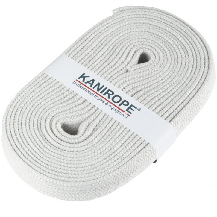 Flat cord HOODIECORD light grey 5m by Kanirope®