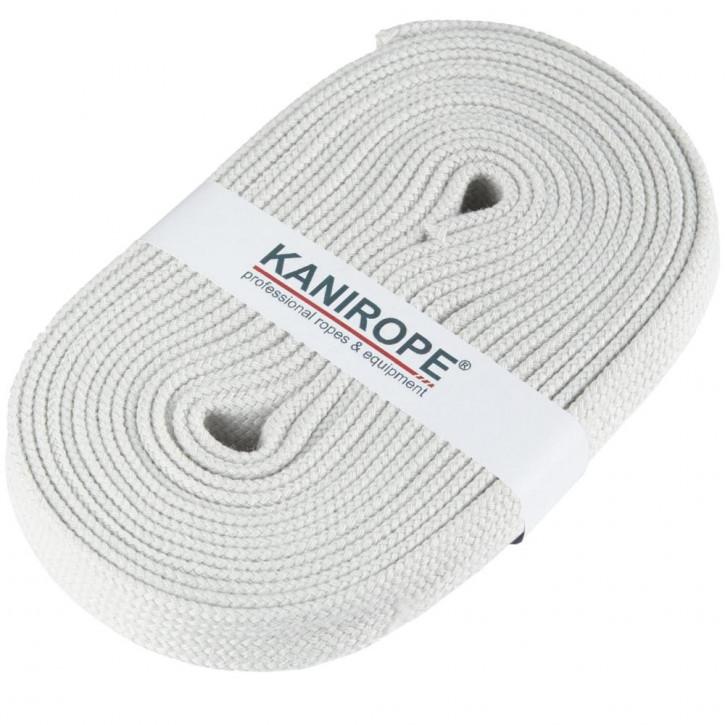 Flat cord HOODIECORD light grey 5m by Kanirope®