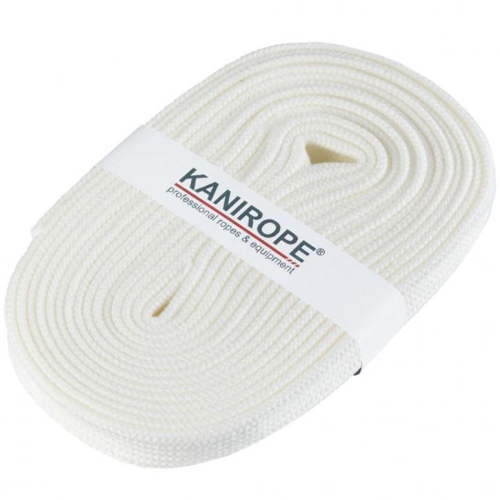 Flat cord HOODIECORD white 5m by Kanirope®