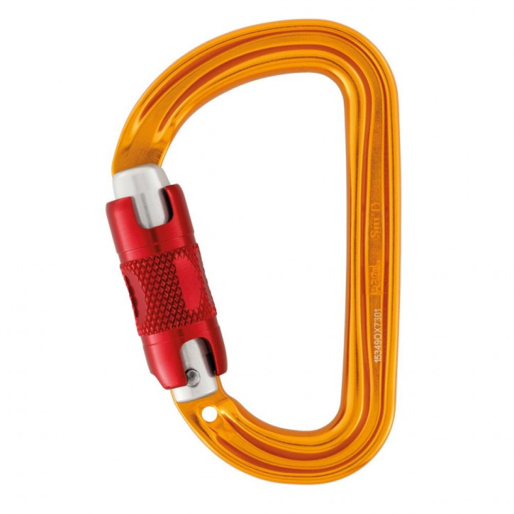 Carabiner Sm D TWIST-LOCK by Petzl®
