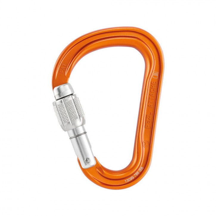 Carabiner ATTACHE SCREW-LOCK by Petzl®