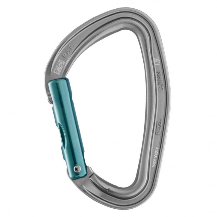 Carabiner DJINN with straight gate grey by Petzl®
