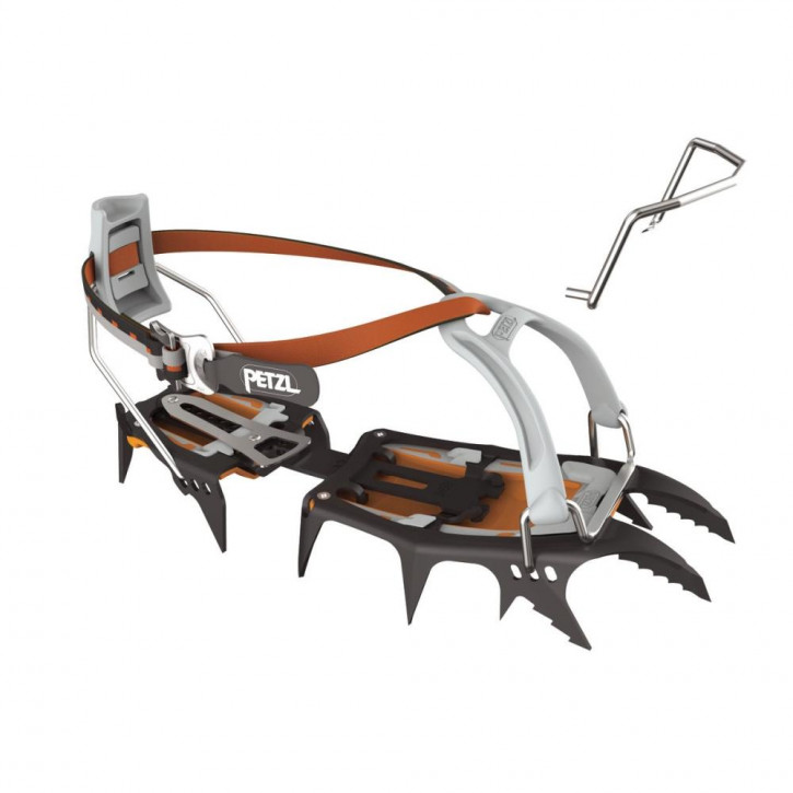 Crampons SARKEN with LEVERLOCK UNIVERSEL by Petzl®