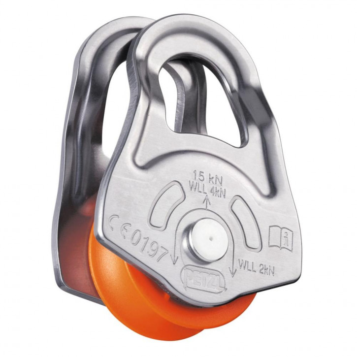 Swing-sided emergency pulley OSCILLANTE by Petzl®