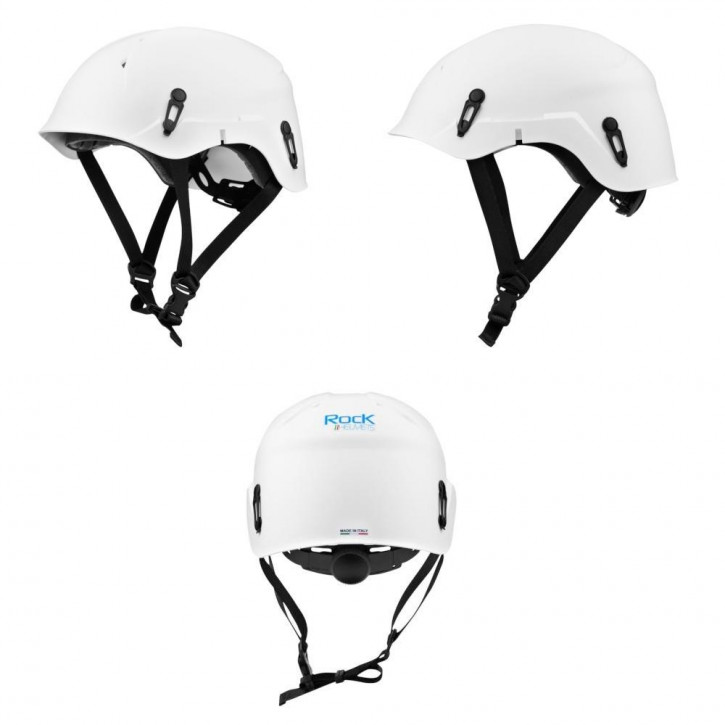 Helmet VERTIK color white by Rock Helmets