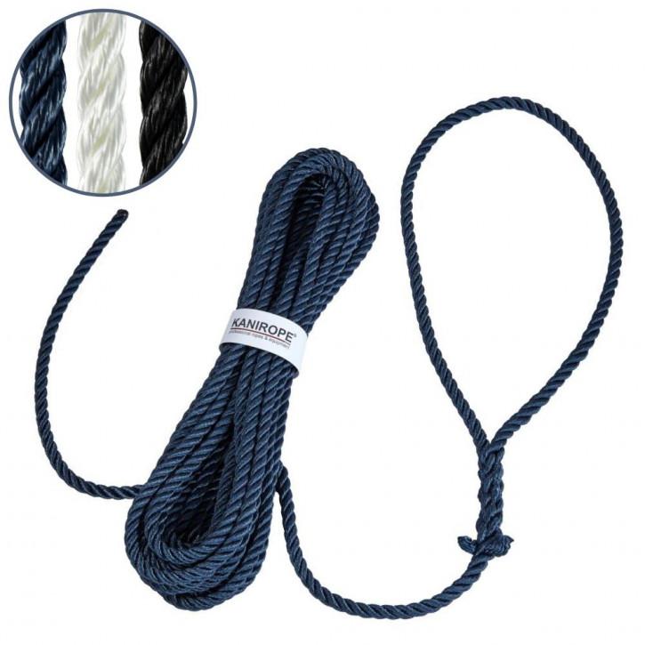 Kanirope® mooring rope POLYTWIST eye spliced dockline