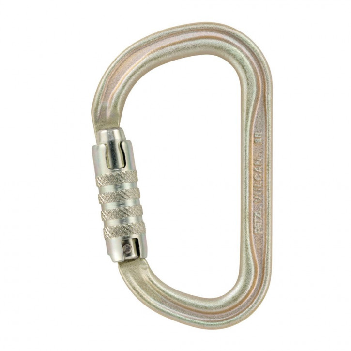 Carabiner VULCAN TRIACT-LOCK european version color gold by Petzl®