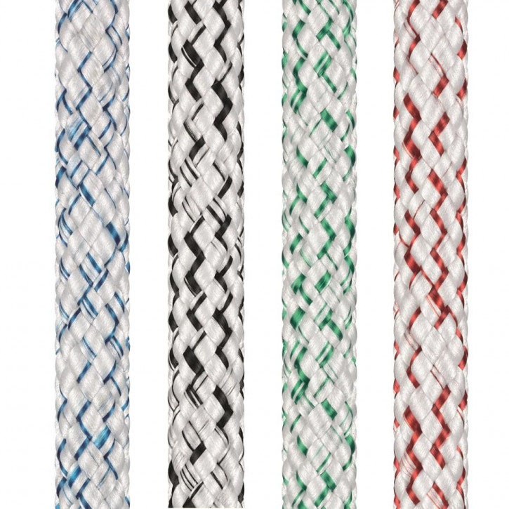 Polyester Rope TOPGRIP ø8mm 1:1 braided by Liros