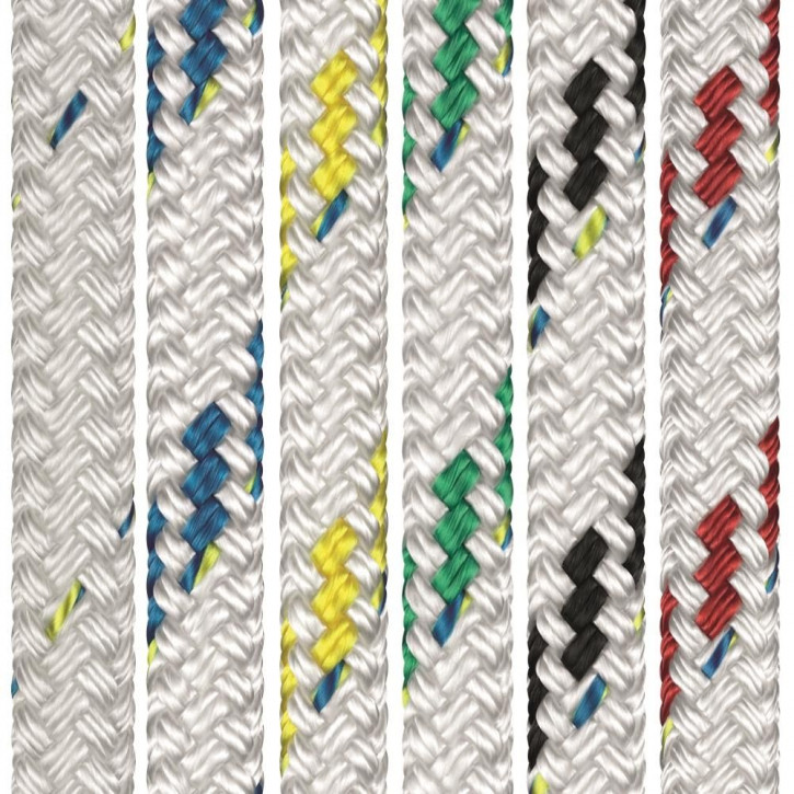 Polyester Rope TOP-CRUISING ø8mm 16-strand braided by Liros
