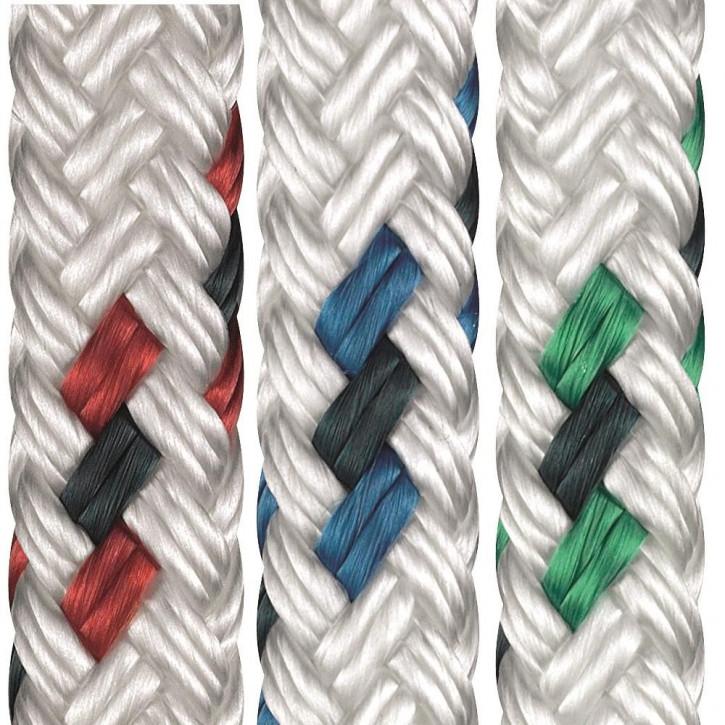 Polyester Rope ALLROUND ø8mm 16-strand braided by Liros