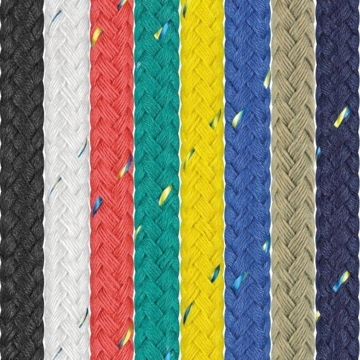Polyester Rope SEASTAR ø5mm 8-strand braided by Liros