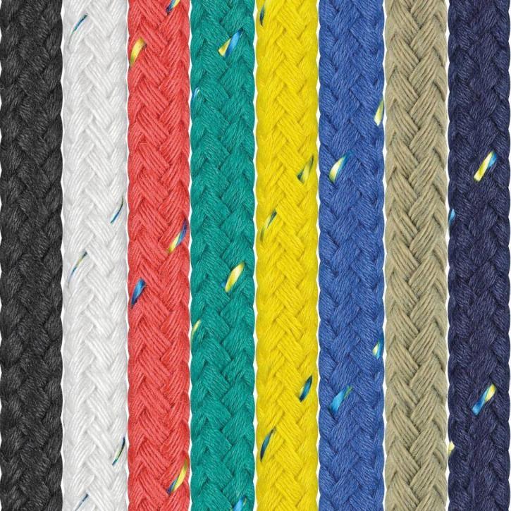 Polyester Rope SEASTAR ø14mm 24-strand braided by Liros
