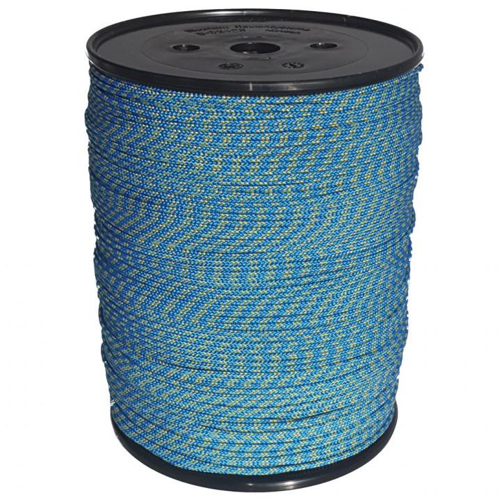 Technora rope TECBRAID ø3mm 16-strand braided by Kanirope®