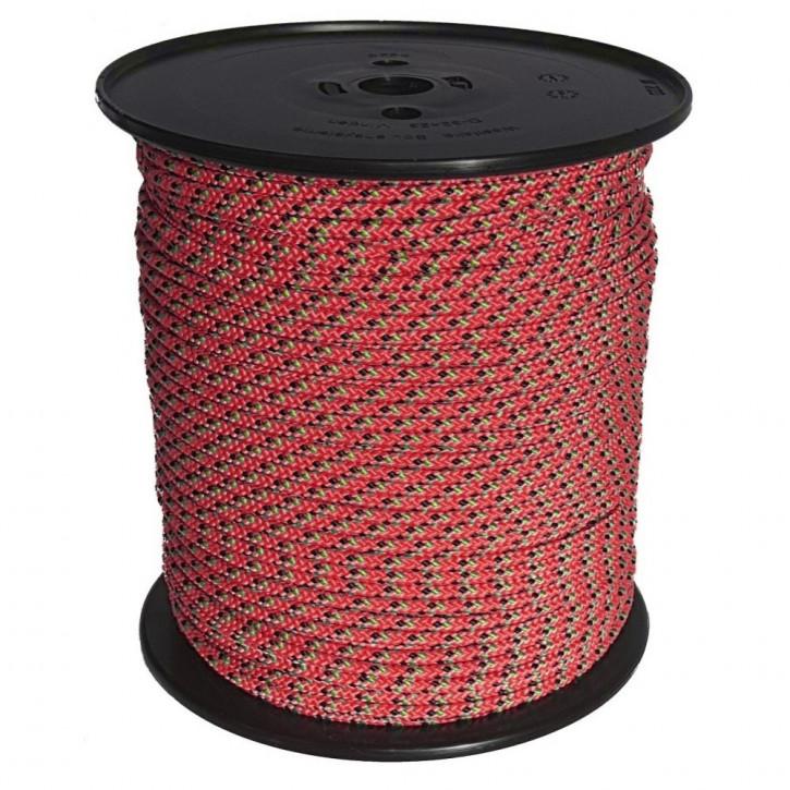 Technora rope TECBRAID ø4mm 16-strand braided by Kanirope®