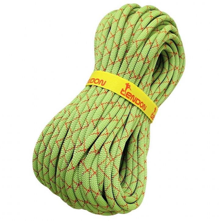 Climbing rope SMART LITE ø9,8mm green by Tendon